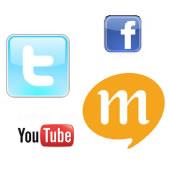 Facebook、Twitter、Mix、無料ブログ